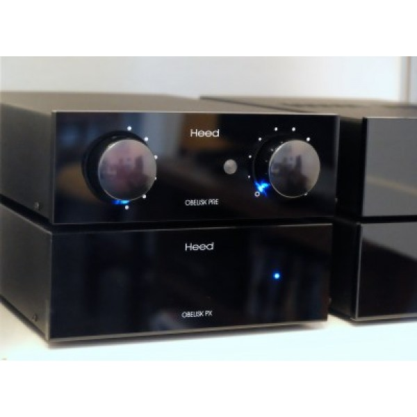 Heed Audio Obelix Pre+X+ PM (2 X monoblock)